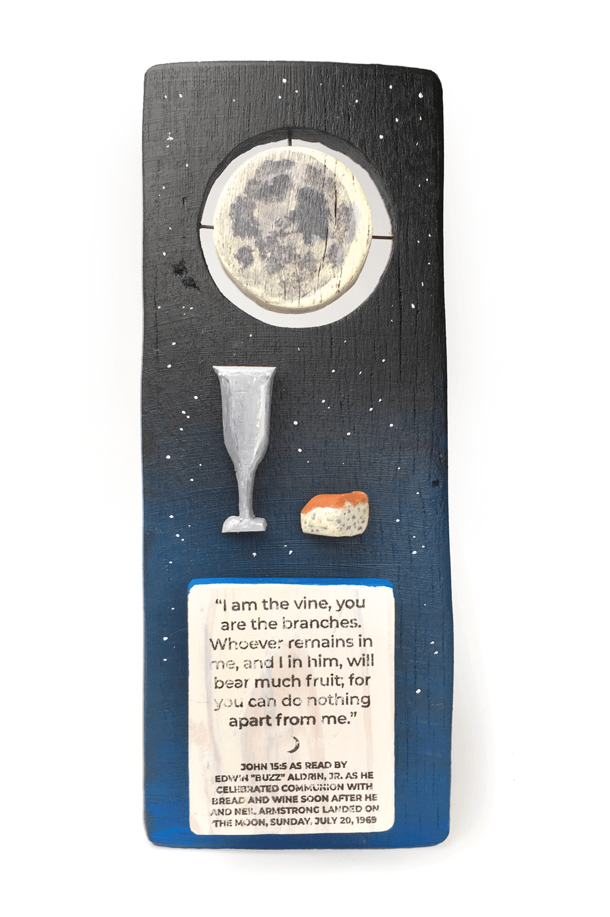 Image of Apollo 11 Communion sculpture