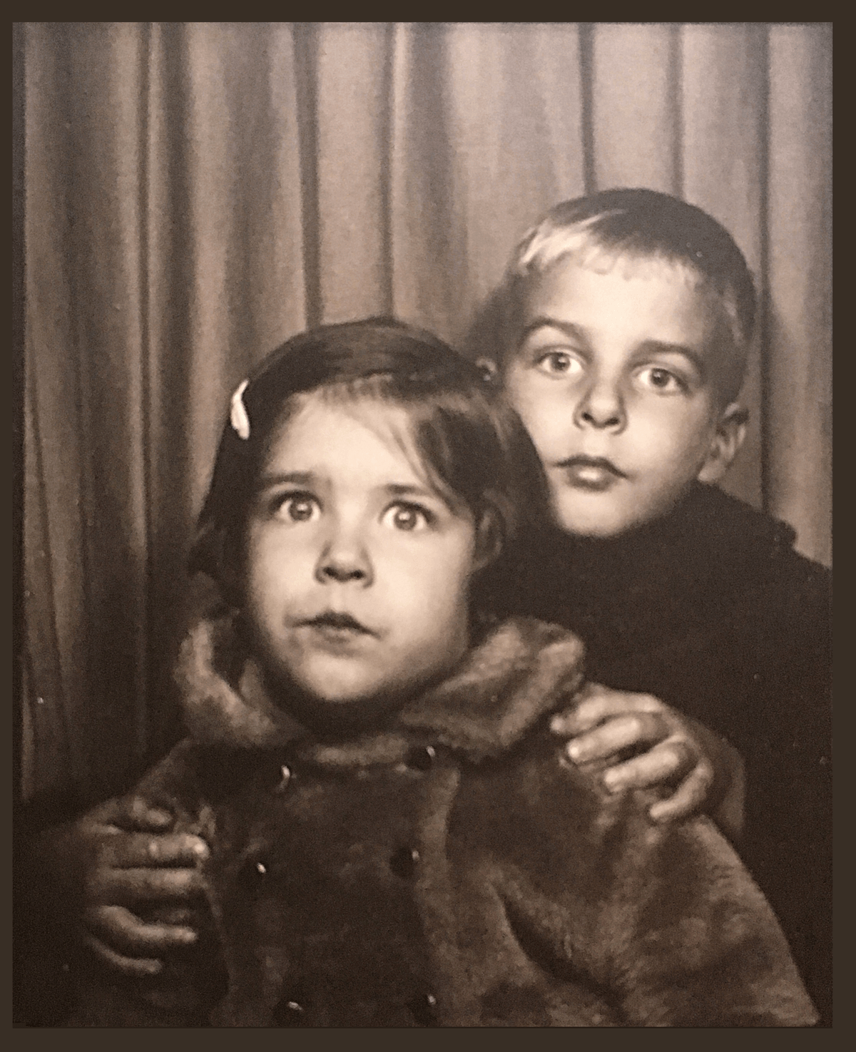 Photo booth picture from 1971